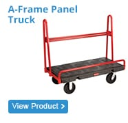 a frame panel truck trolley
