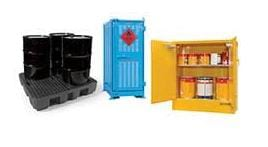 Dangerous Goods Storage Containers, Cabinets