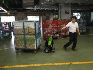 Battery Electric Linen Trolley Mover-1